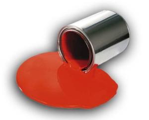Paint Spill On Floor